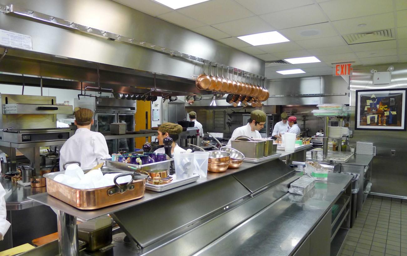 Ergonom a en profesionales de hosteler a hospitalaria for Cocinas industriale